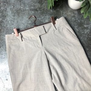 THE LIMITED Oatmeal Tan Drew Bootcut Dress Pant